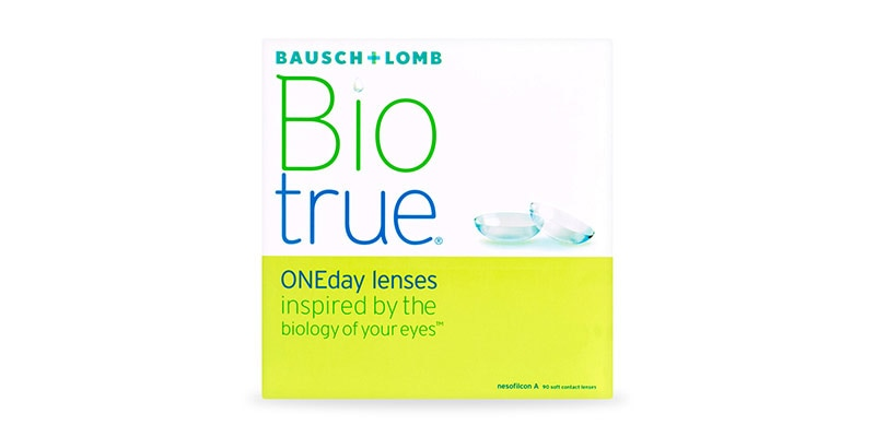 ContactsDirect - BAUSCH & LOMB – Biotrue 1-day 90 Pack