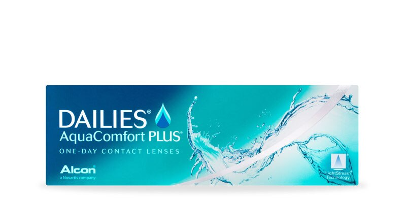 ContactsDirect - ALCON – Dailies Aquacomfort Plus 30 Pack