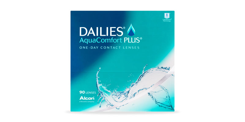 ContactsDirect - ALCON – Dailies Aquacomfort Plus 90 Pack