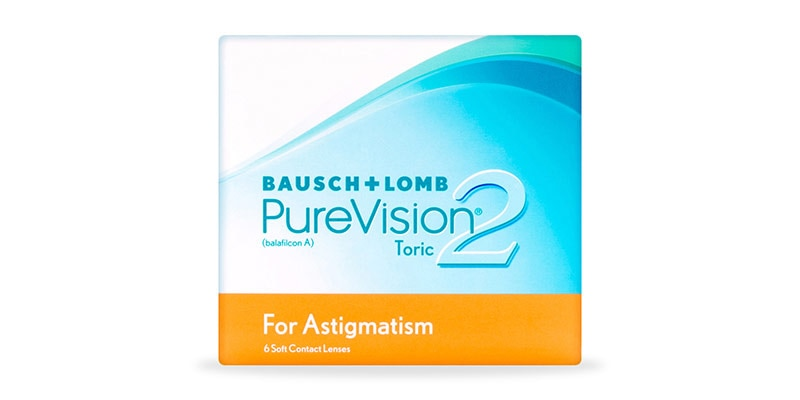 ContactsDirect - BAUSCH & LOMB – Purevision 2 For Astigmatism 6 Pack