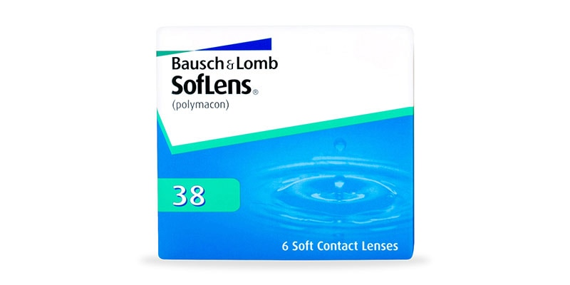 ContactsDirect - BAUSCH & LOMB – Soflens 38 – 6 Pack