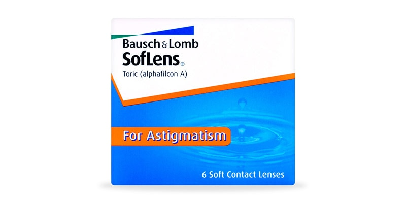 ContactsDirect - BAUSCH & LOMB – Soflens Toric 6 Pack